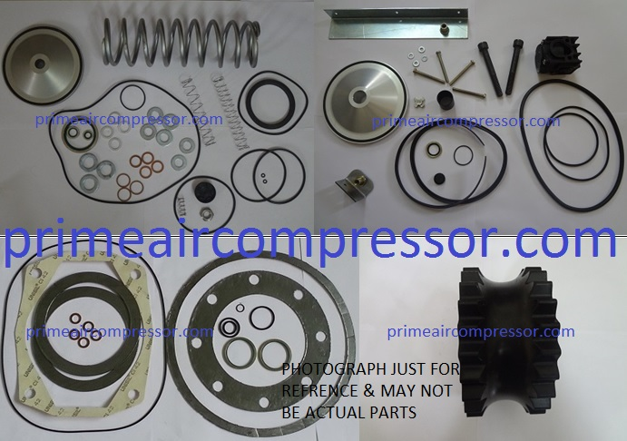 2906-0089-00 Pipe seal kit for oil and water system